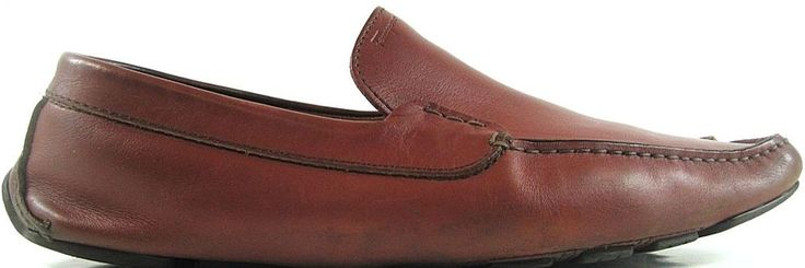 Ferragamo Men Driving Loafer Shoes Size 9.5 D Clay Reddish Made Italy.  ABA 1 #Ferragamo #DrivingLoafers #Driving