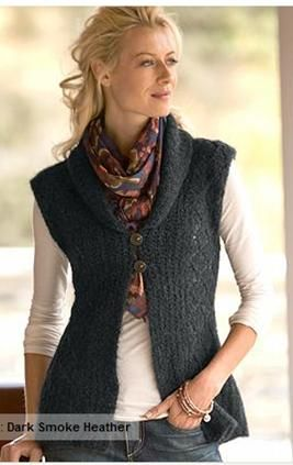 Eddie Bauer - Love this sweater.  Super lightweight and looks great with jeans.
