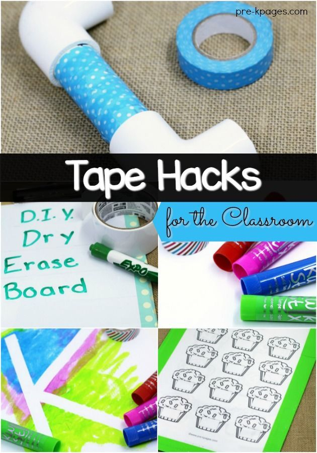 979 best pre k pages images on pinterest for Super easy duct tape crafts