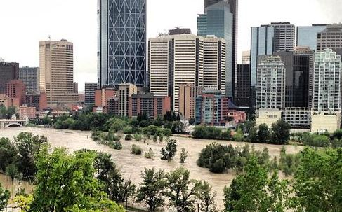 Calgary Flooding - 2013 Flood - DRAMATIC PICTURES & VIDEO - Calgary Video Production - BizBOXTV