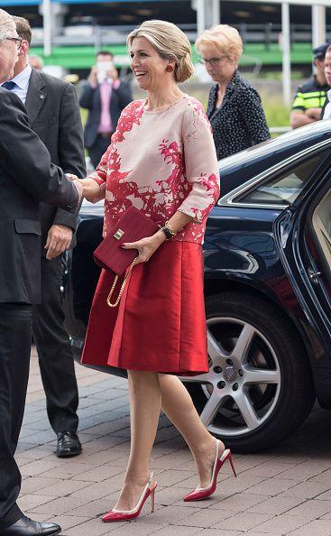 Queen Maxima Of The Netherlands Attends Children's Concert on June 10, 2015 in Utrecht Netherlands.
