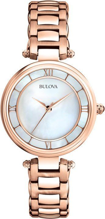 @bulova Watch Ladies #2015-2016-sale #bezel-fixed #black-friday-special #bracelet-strap-gold #brand-bulova #case-depth-7-1mm #case-material-rose-gold #case-width-29mm #delivery-timescale-4-7-days #dial-colour-white #fashion #gender-ladies #movement-quartz-battery #official-stockist-for-bulova-watches #packaging-bulova-watch-packaging #sale-item-yes #style-dress #subcat-classic #supplier-model-no-97l124 #vip-exclusive #warranty-bulova-official-3-year-guarantee #water-resistant-30m