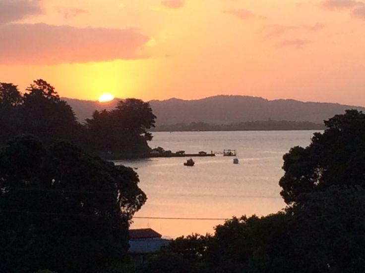 McLeod Bay Sunset, Whangarei Heads, NZ