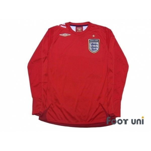 promo code 94f5e e2ab8 England 2006 Away Long sleeve Shirt #england #umbro ...