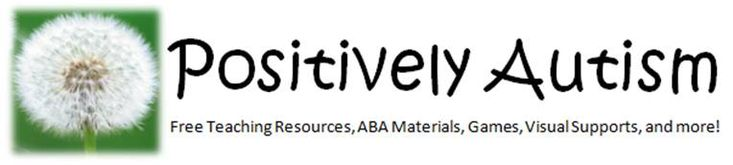 Positively Autism - Free Resources, Lesson Plans, Teaching Materials, and more for students with autism. This website contains many visual supports to help students with autism to be successful in the classroom.