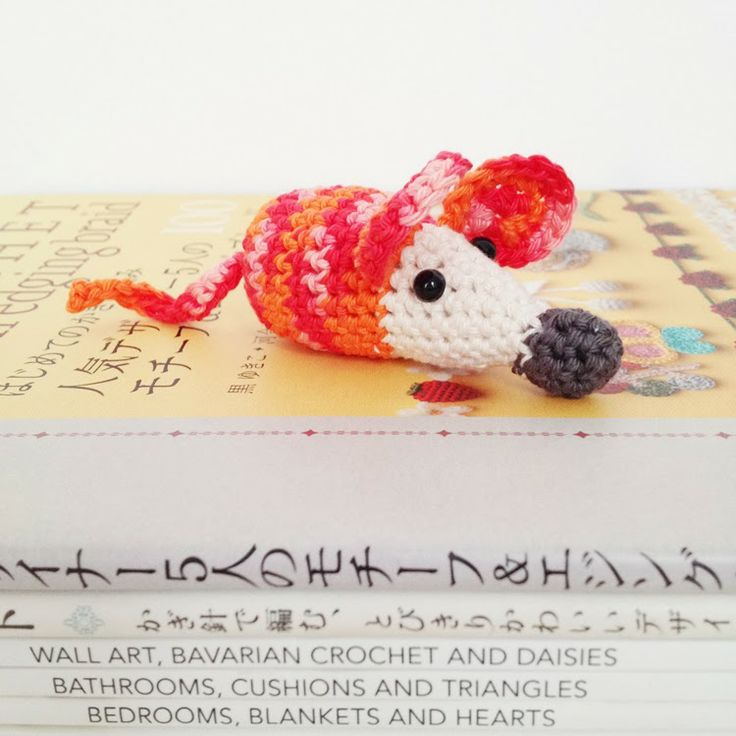 87 best crochet amigurumi mouse images on pinterest crochet free crochet pattern of a mouse i made this pattern for the project called a mouse a day in which i make a mouse every day in december 2013 for a fandeluxe Image collections