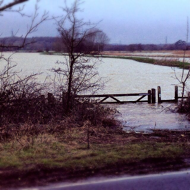 Brede flooding  UK weather 2014