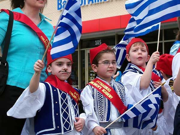 Reasons we #ENJOYChicago: The Events! The Hellenic Heritage Parade aka Greek Independence Day Parade- March 29. 2015