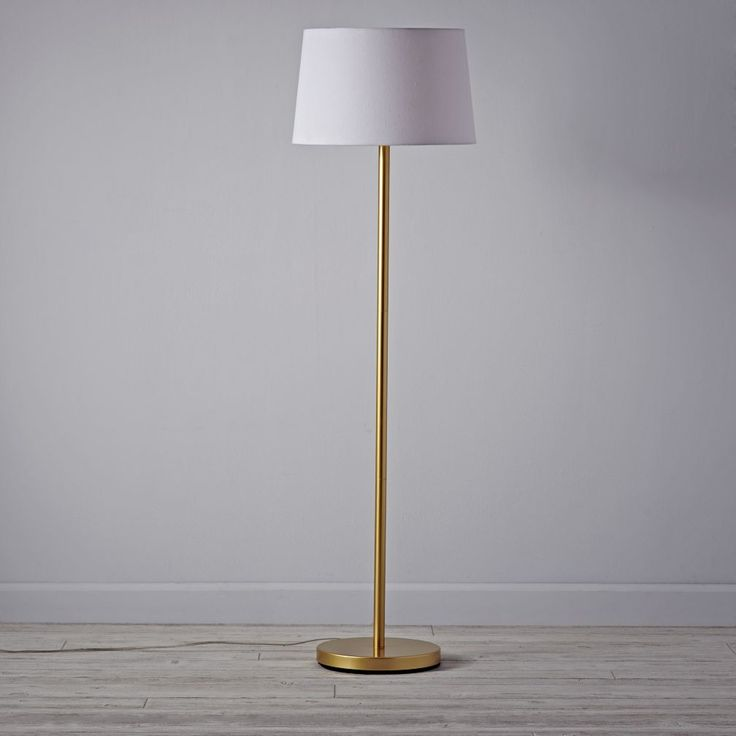 Light Years Floor Lamp Base (Gold) | The Land of Nod