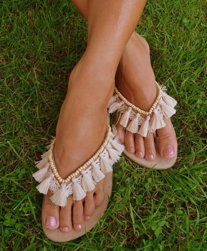 Hot Lava - Unieke handgemaakte slippers | sandalen - collectie zomer 2013