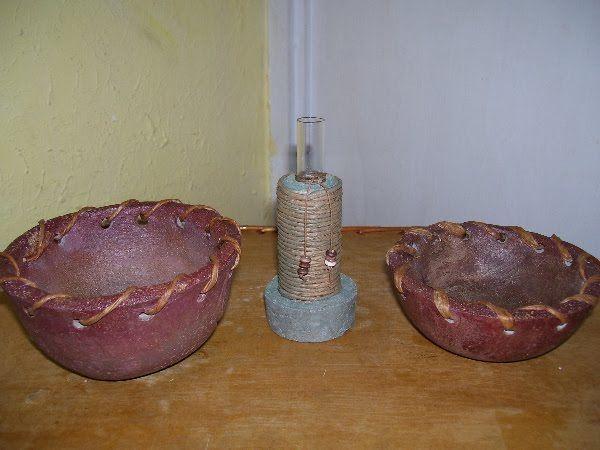 PASTA PIEDRA - Mezcla - Técnica - Paso a paso / Objetos de decoración   Hogar Decoración y Diseño
