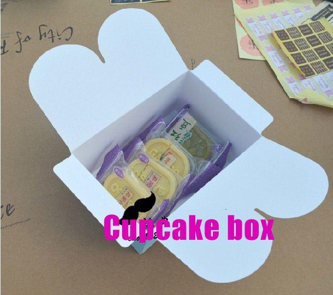 Aliexpress.com: Купить Высокое качество 35 шт./лот 16 x 16 x 7.5 см провести 4 кексы пластиковые окна с вставить, Пирожня коробки, Торт для упаковки kraftpaper из Надежный пвх окно поставщиков на RuiYe Made