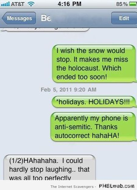 iPhone humor – Apple's toy has a mind of its own   PMSLweb