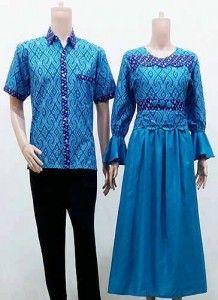 Koleksi Baju Batik Muslim Mewah Terabru 2016