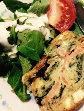 スモークサーモンとチーズのケークサレ by 三四郎 [クックパッド] 簡単おいしいみんなのレシピが258万品