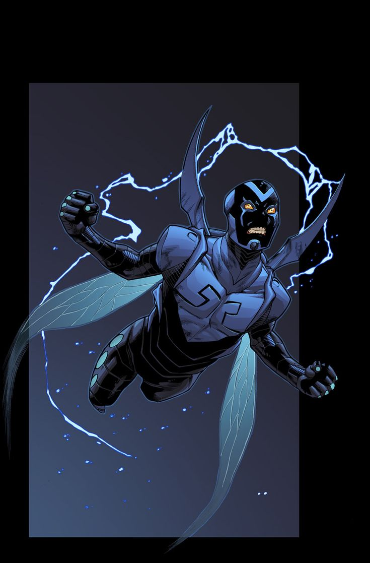 Blue beetle by Barros and Mayer by Ross-A-Campbell.deviantart.com