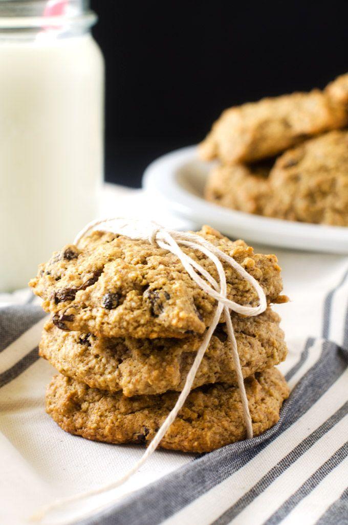 Quinoa Raisin Cookies #snacktoschool #LoveYourRaisins #glutenfree