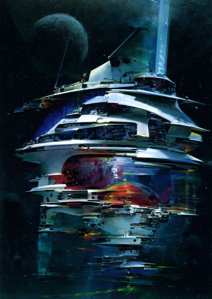 171 best images about john harris john berkey on for Space matte painting