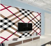 3d papel pintado por habitación Simple líneas patrón de papel tapiz de fondo mural 3d fondos de escritorio de estilo de vida