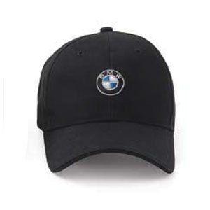 BMW Genuine Roundel Cap - Black BMW