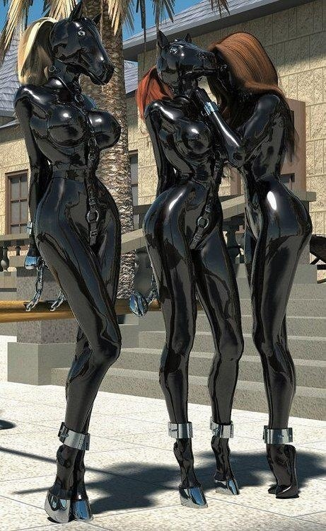 latex pony girls silly funny pinterest latex pony and girls. Black Bedroom Furniture Sets. Home Design Ideas