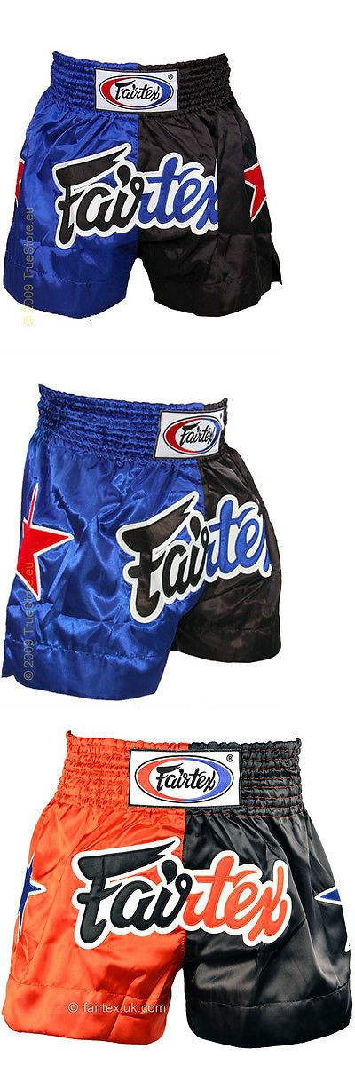 Other Combat Sport Clothing 73988: New! Fairtex Muay Thai Kickboxing Shorts - Blue And Black Or Red And Black - Ufc Mma BUY IT NOW ONLY: $44.99