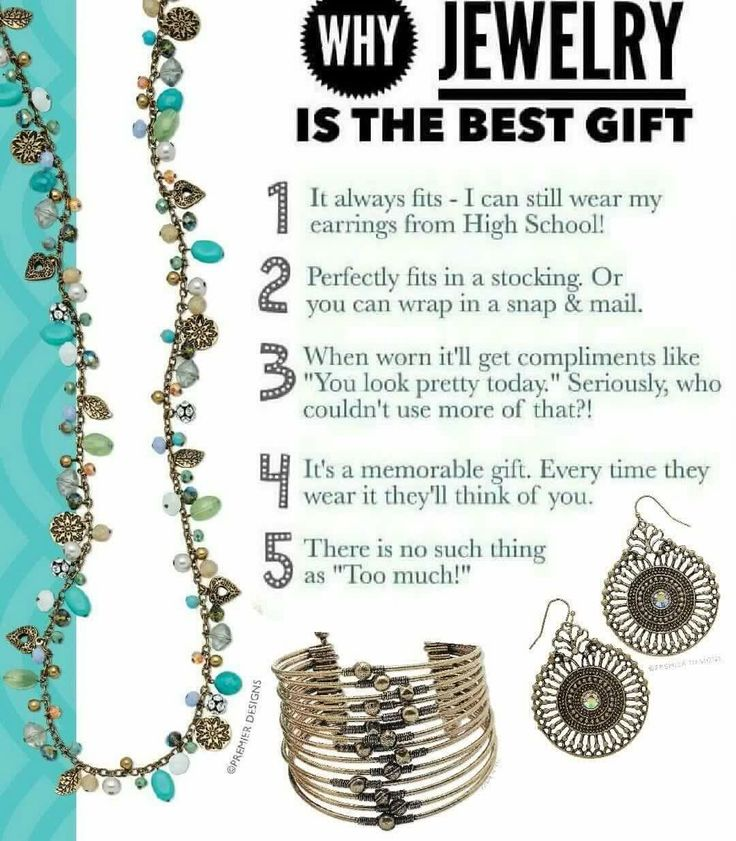Why jewelry is the best https://www.facebook.com/SparkleWithTheresa/  http://theresag.mypremierdesigns.com/