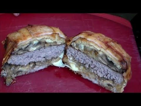 """▶ Korzo's """"The Slav"""" Burger Recipe (Deep Fried Hamburger) - YouTube"""