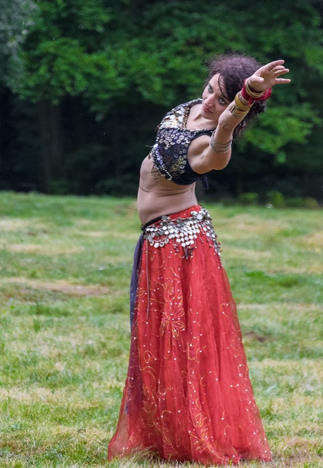 Tribal Fusion dance dancer Lucy