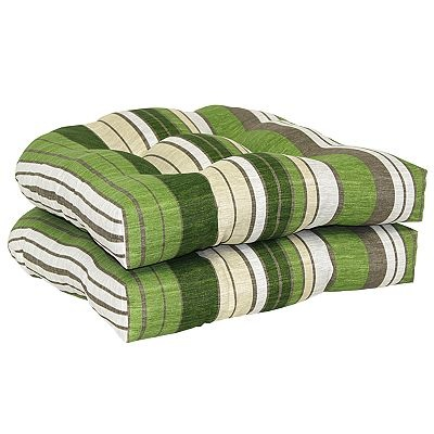 Sonoma Goods For Life Striped 2 Pc Outdoor Wicker Chair