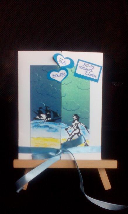 kartka na 30-tą rocznicę ślubu