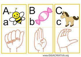 Libras - Ensine Suas Mãos A Falar: Alfabeto Criativa