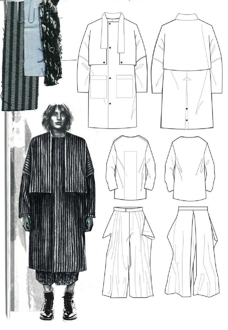 Fashion Sketchbook - fashion illustration; fashion design drawings; fashion portfolio // Lucy James