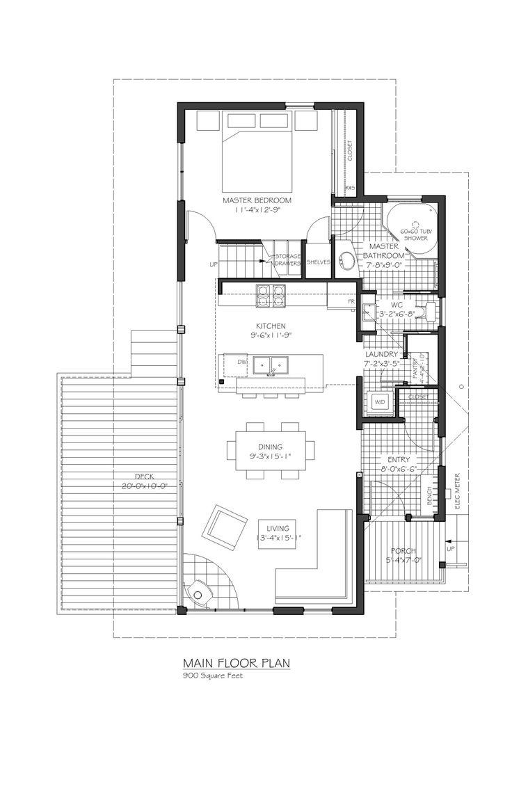Equinox Main Floor Plan