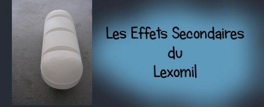 Les effets secondaires du lexomil pour dormir à ne pas prendre à la légère !