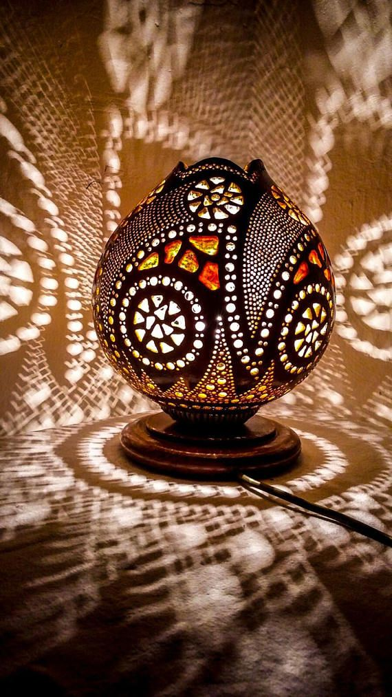 EASTER Sales Gourd lamp Ottoman Turkish lamp stehlampe