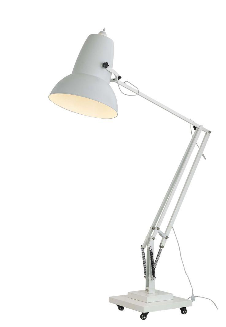 7 best giant anglepoise lamp images on pinterest. Black Bedroom Furniture Sets. Home Design Ideas
