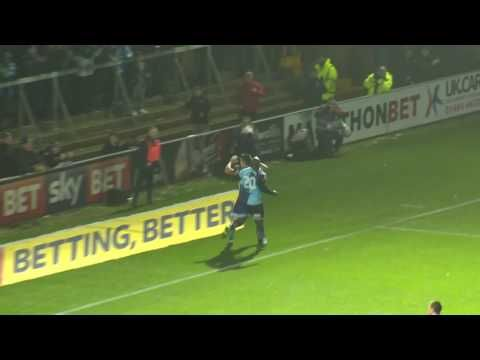 Wycombe Wanderers vs Morecambe - http://www.footballreplay.net/football/2016/11/12/wycombe-wanderers-vs-morecambe/