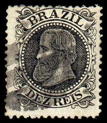 Postage stamp from Brazil