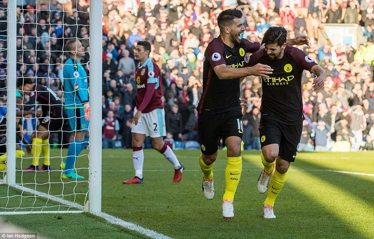 A brace from Sergio Aguero saw Manchester City come from behind and secure a victory away at a battling Burnley side