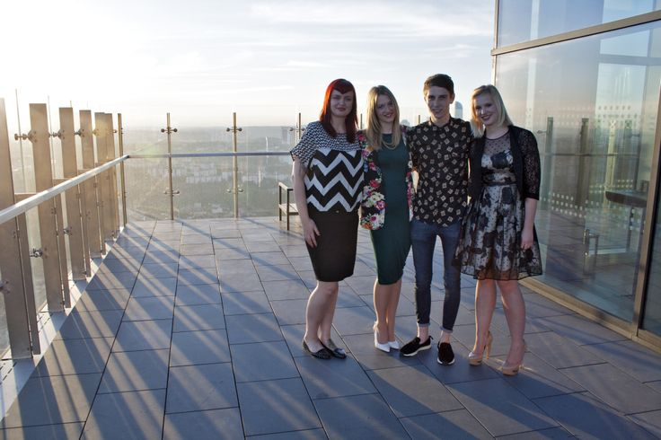 DMU's talented footwear design students Zuzana Vitamvasova, Lottie Roberts, Mitchell Windsor and Steph Sweetmore, in Istanbul, Turkey for the first GREAT Festival of Creativity.