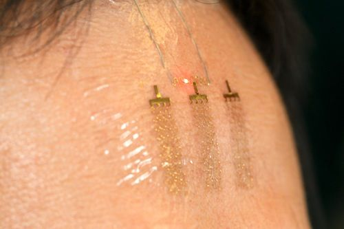 temporary tattoos could make electronic telepathy, telekinesis possible.