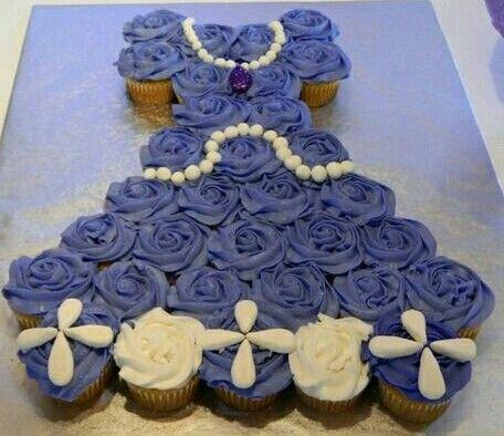 Vestido de princess sofia,cupcakes