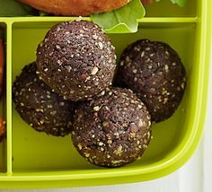 It only takes 15 minutes to blitz dates, nuts, seeds and oats to make this high-energy snack - perfect popped into a lunch box
