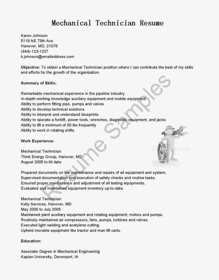 70 awesome images of resume objective examples maintenance