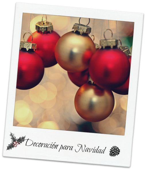 Consejos y deco-ideas para decorar tu casa esta Navidad. ¡Apúntate al DIY!