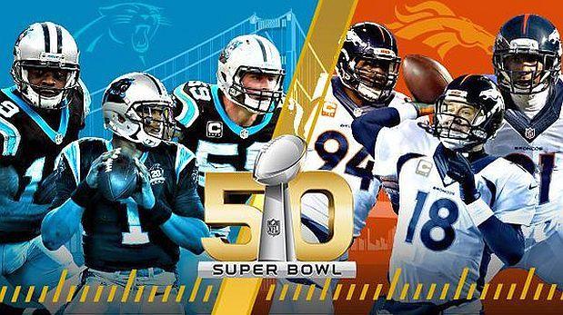 La ofensiva más potente ante la mejor defensa, el explosivo Cam Newton ante el veterano Peyton Manning, un equipo hambriento de su primer titulo ante otro lleno de experiencia: el Super Bowl, la gran final del fútbol americano, ofrecerá este domingo un duelo de contrastes entre los Carolina Panthers y los Denver Broncos. Febrero 07, 2016.