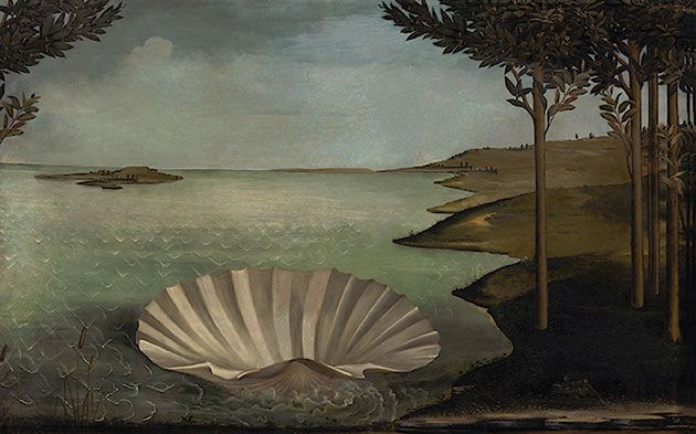 Waiting for the Birth (Version of The Birth of Venus by Sandro Botticelli) // Jose Ballester // Hidden Spaces