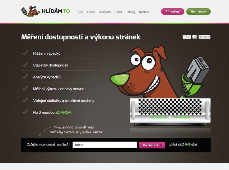Projekt Hlídám.to je profesionální nástroj pro sledování serverů, který je vhodný pro odborníky i laiky.