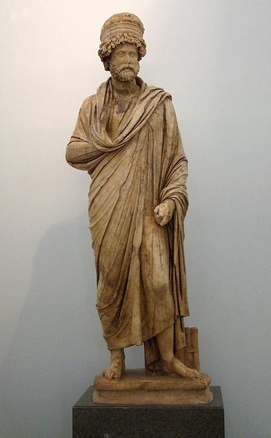Antonius Claudius Dometeinos. from the Bouleuterion ca. 200 CE. Aphrodisias Museum.